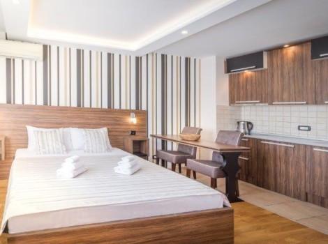 Apartmani u centru grada, Feel Belgrade Studio Lux Lomina, Apartmani stan na dan Beograd centar (1)
