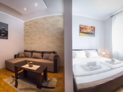 apartmani kod politike centar beograda Dnevna soba