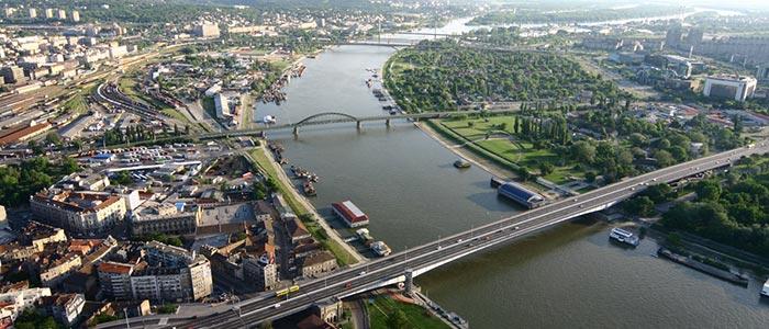 Razgledanje Beograda brodom
