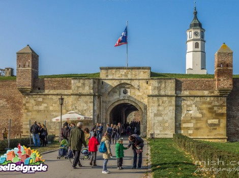 Belgrade sightseeing, kalemegdan fortress