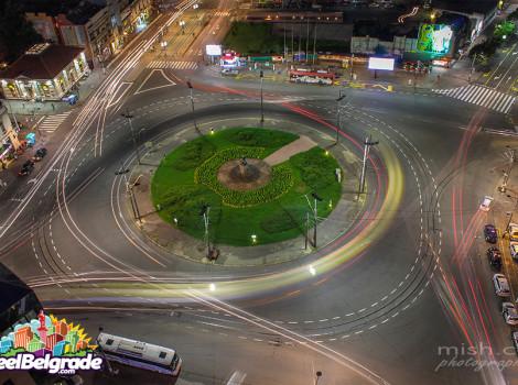Trgovi u Beogradu - Trg Slavija, turistički vodič kroz Beograd, znamenitosti Beograda