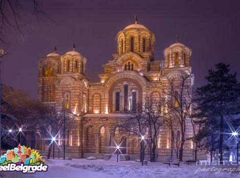Crkve u Beogradu - Crkva Svetog Marka, ture po Beogradu, beogradski vodič
